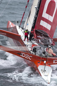 SAILING - NORTH ATLANTIC MULTI SOLO RECORD 2013