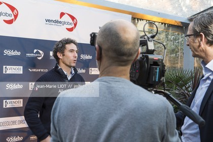 VENDEE GLOBE 2016 - CONFERENCE DE PRESSE PARIS