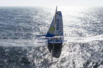SAILING - ULTIME MACIF AERIAL MARCH 2016